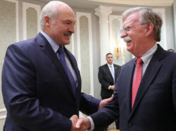 Лукашенко Болтон